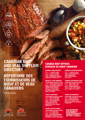 Canada Beef and Veal Supplier Guide