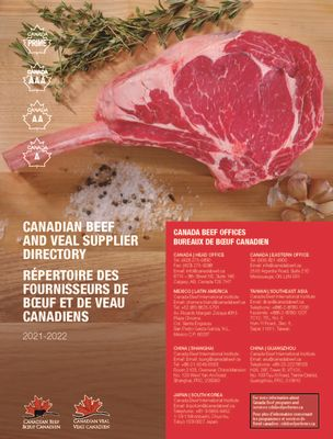 Canada Beef and Veal Supplier Guide 2021
